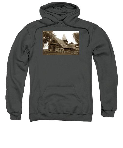 St. Johns Chapel Del Monte Monterey California 1895 Sweatshirt