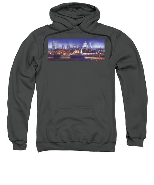 St Paul's Landscape River Sweatshirt