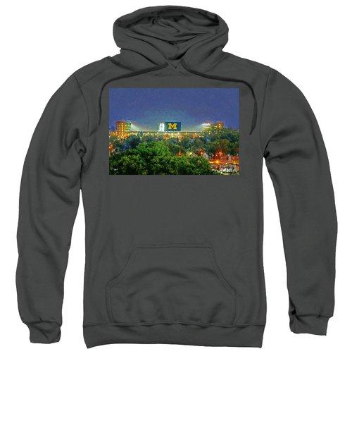 Stadium At Night Sweatshirt