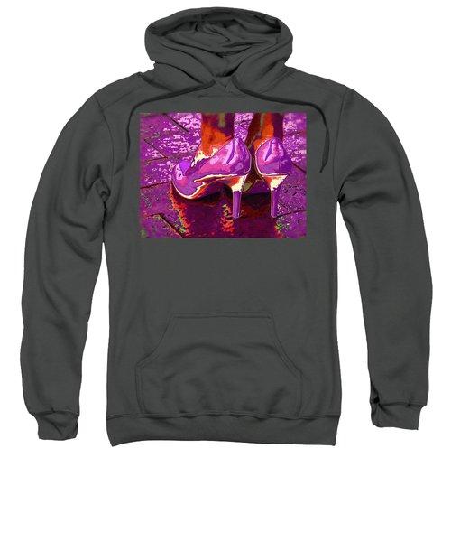 Standing In The Purple Rain Sweatshirt