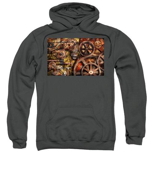 Steampunk - Gears - Inner Workings Sweatshirt