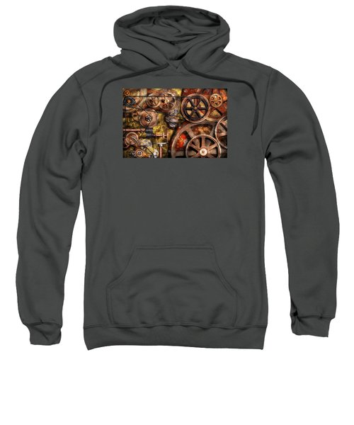 Steampunk - Gears - Inner Workings Sweatshirt