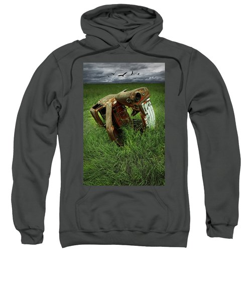Steel Auto Carcass With Vultures Sweatshirt