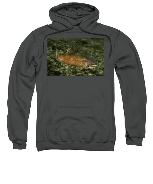 Steelhead Trout Spawning Sweatshirt