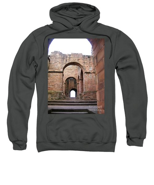 Sweatshirt featuring the photograph Steps In Time by Denise Railey