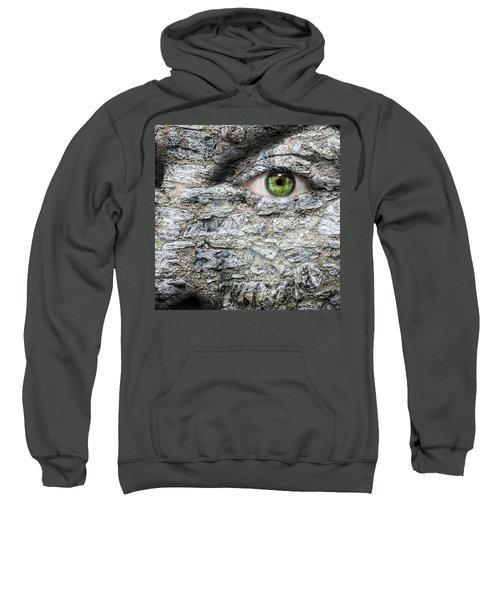 Stone Face Sweatshirt by Semmick Photo