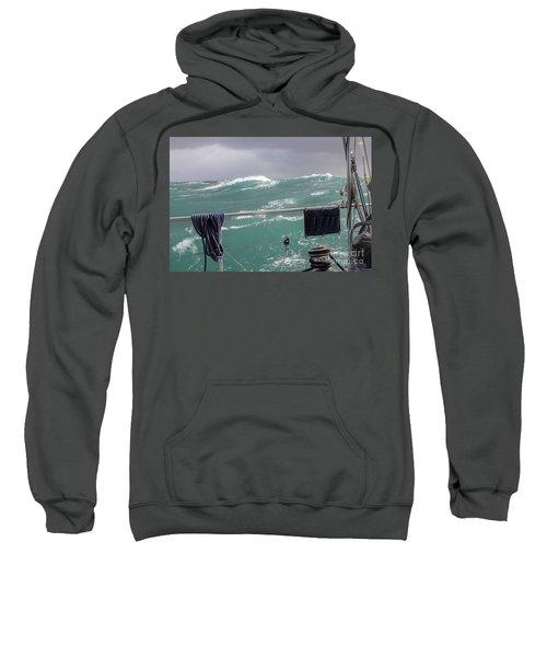 Storm On Tasman Sea Sweatshirt