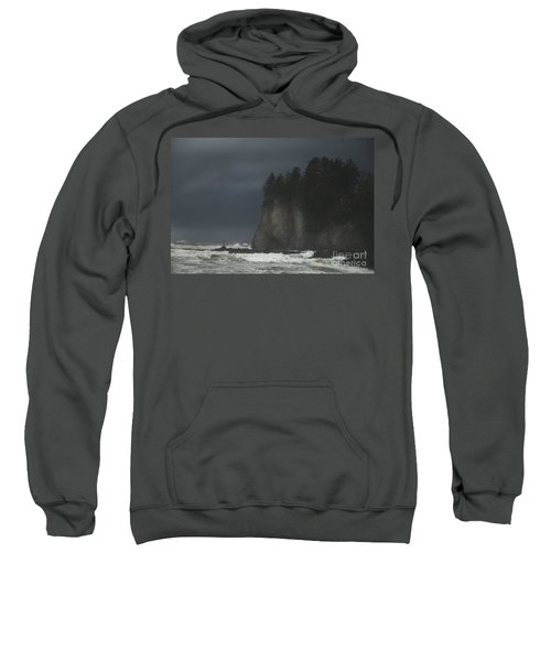Storm At Lapush Washington State Sweatshirt
