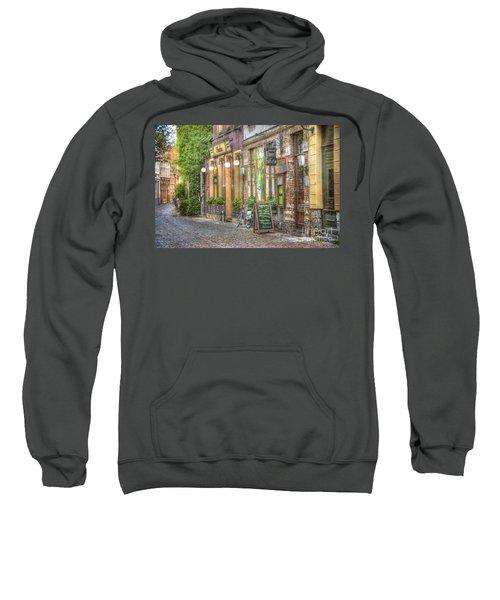 Street In Ghent Sweatshirt