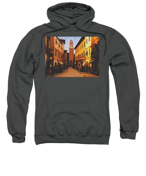Street Scene Sweatshirt