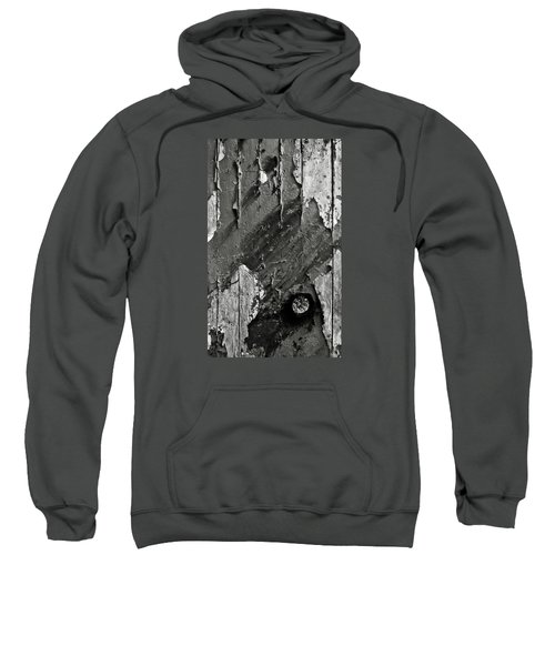 Stripping Hull Of An Old Abandoned Ship Sweatshirt