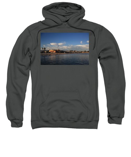 Summer Evenings In Santa Cruz Sweatshirt