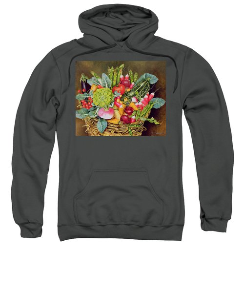 Summer Vegetables Sweatshirt