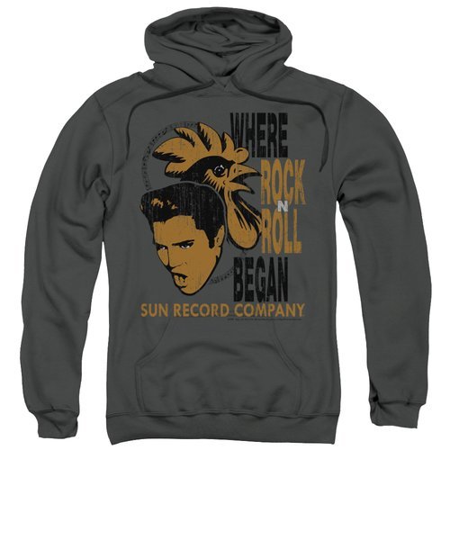 Sun - Elvis And Rooster Sweatshirt by Brand A