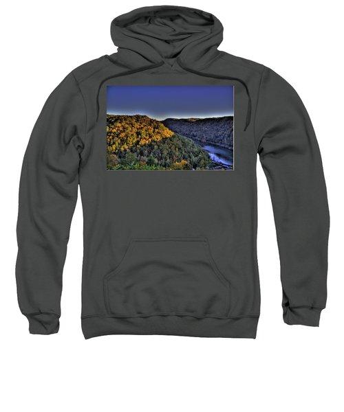 Sun On The Hills Sweatshirt by Jonny D