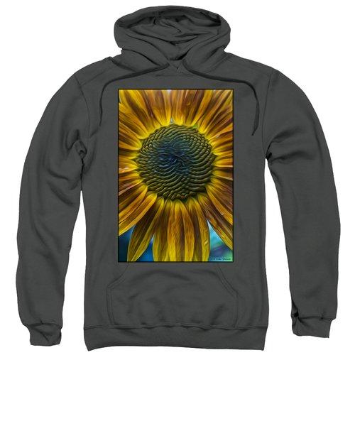 Sunflower In Rain Sweatshirt