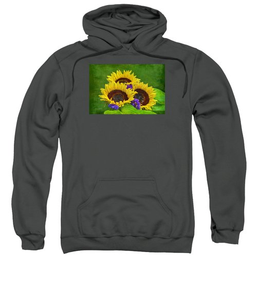 Sunflower Trio Sweatshirt