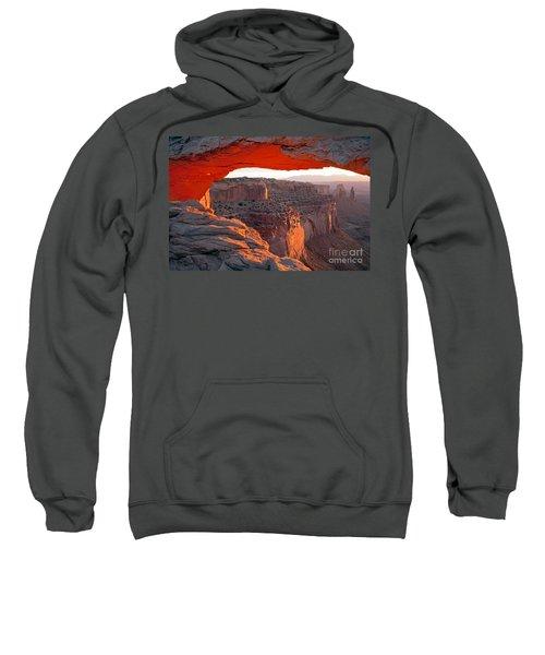 Sunrise Mesa Arch Canyonlands National Park Sweatshirt
