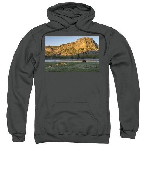 Sunrise Mt. Hayes Yellowstone National Park Sweatshirt