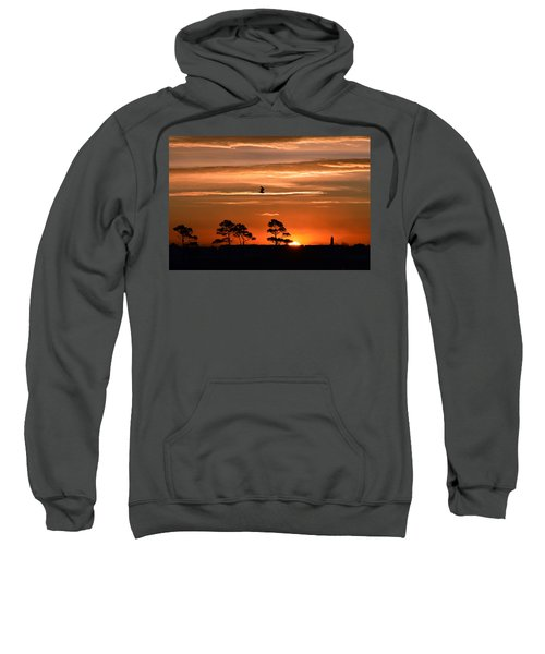 Sunrise Over Fenwick Island Sweatshirt