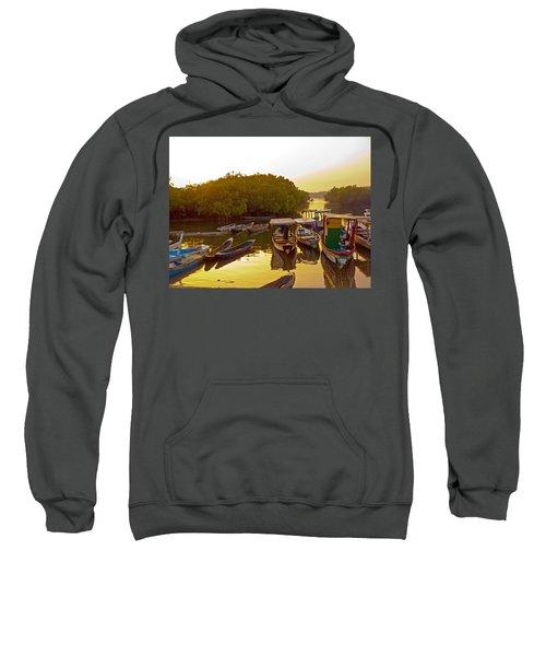 Sunrise Over Gambian Creek Sweatshirt
