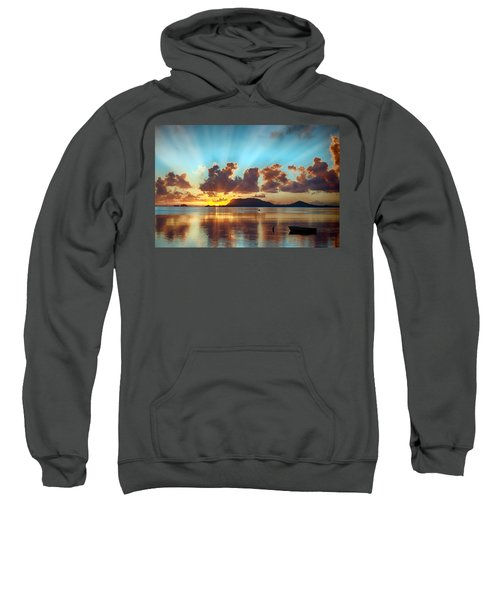 Sunrise Over Marine Corps Base Hawaii Sweatshirt