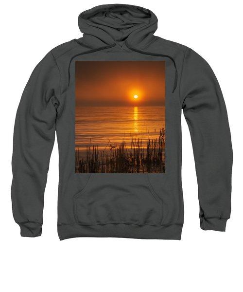 Sunrise Through The Fog Sweatshirt by Scott Norris