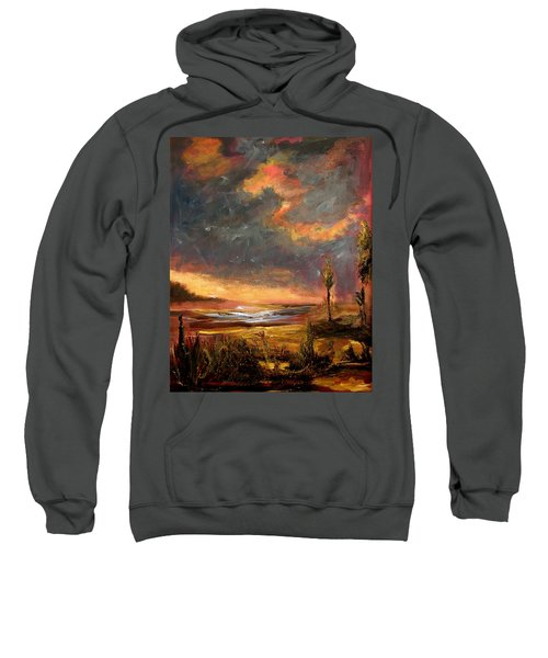 Sunrise With Birds  Sweatshirt