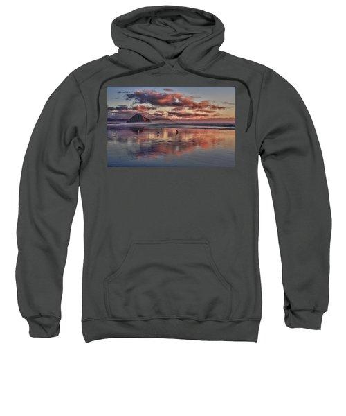 Sunset At Morro Strand Sweatshirt