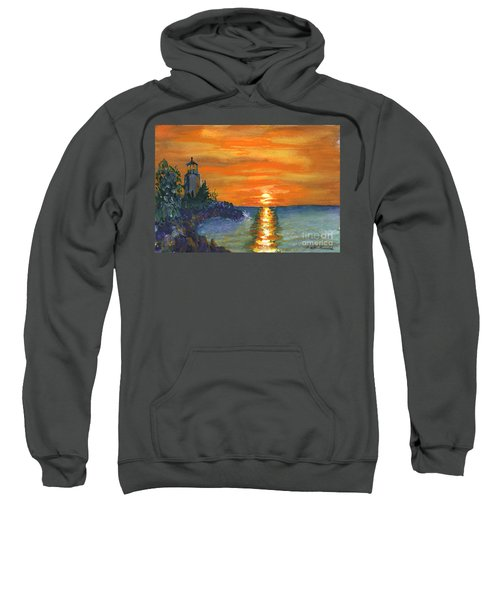Sunset At The Lighthouse Sweatshirt