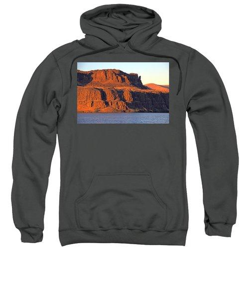 Sunset Cliffs At Horsethief  Sweatshirt