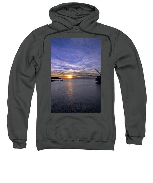 Sunset In Adriatic Sweatshirt