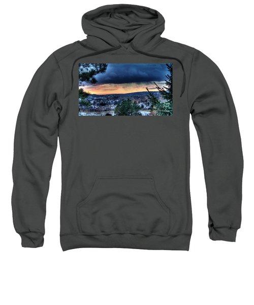 Sunset Over Hot Springs Sweatshirt