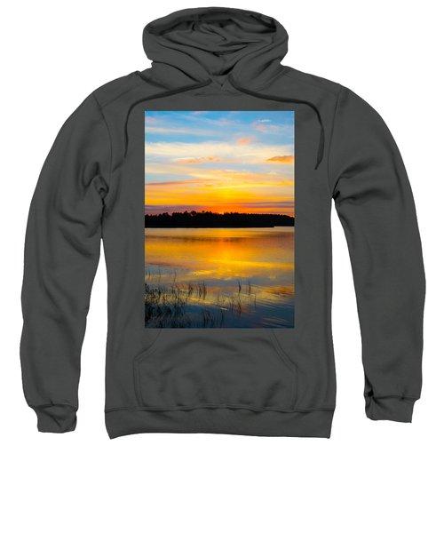 Sunset Over The Lake Sweatshirt