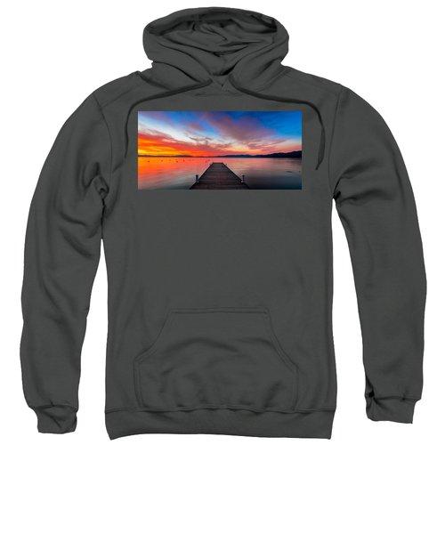Sunset Walkway Sweatshirt