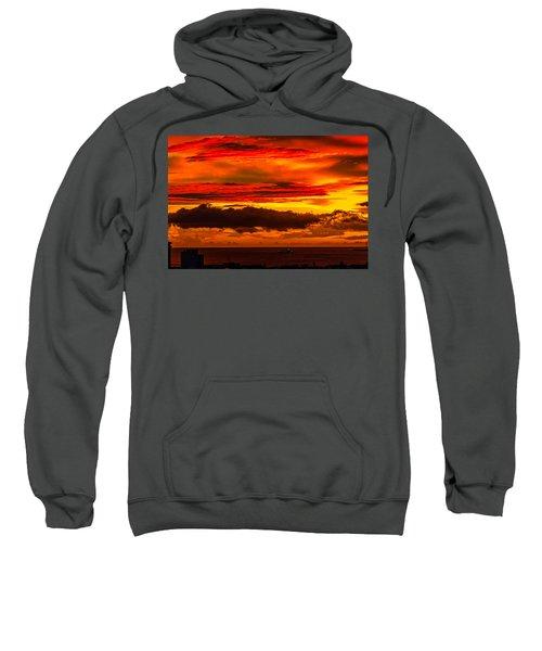 Sunset Wow2 Sweatshirt