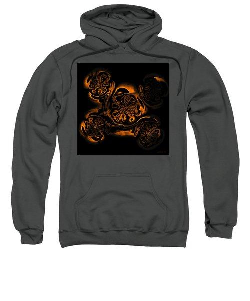 Sweatshirt featuring the digital art Suranan Artifact by Judi Suni Hall