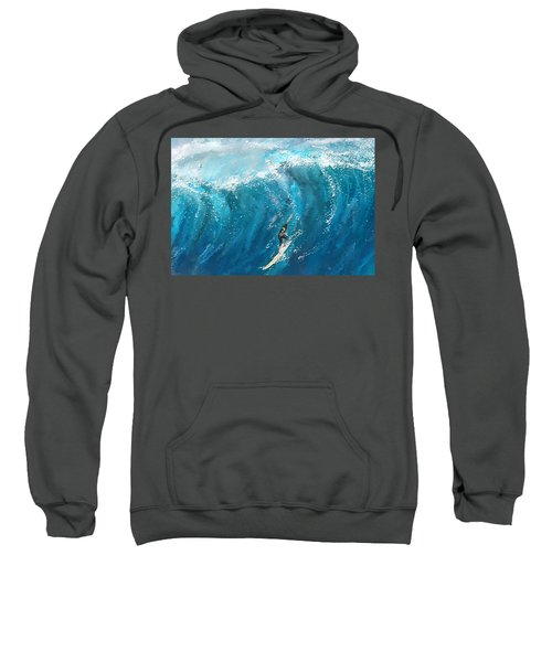 Surf's Up- Surfing Art Sweatshirt