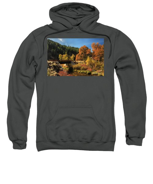 Susan River Bridge On The Bizz 2 Sweatshirt