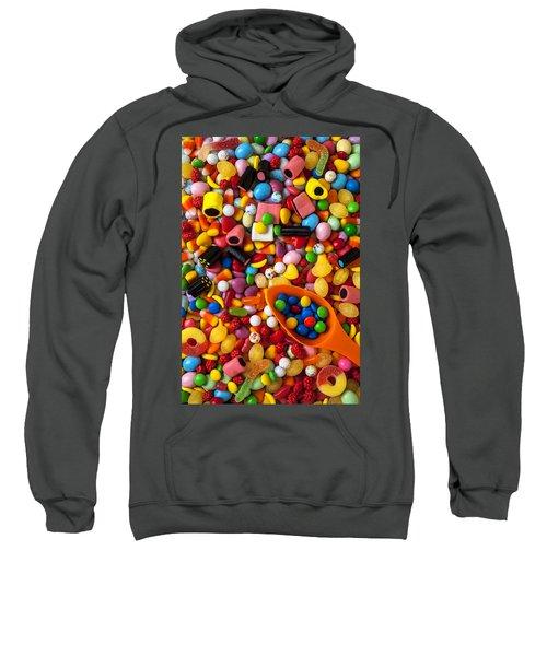 Sweet Candy With Scoop Sweatshirt