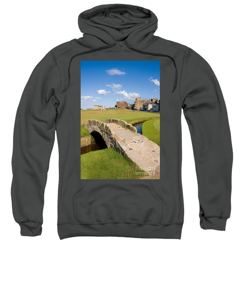 Swilcan Bridge On The 18th Hole At St Andrews Old Golf Course Scotland Sweatshirt