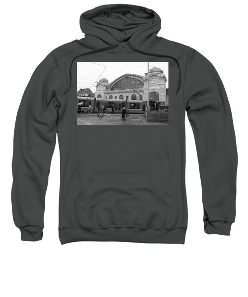 Swiss Railway Station Sweatshirt