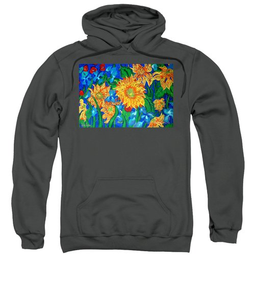 Symphony Of Sunflowers Sweatshirt