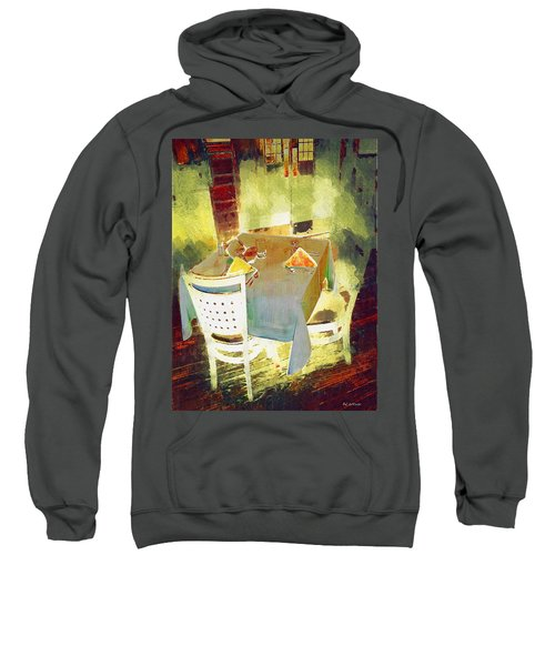 Table At The Fauve Cafe Sweatshirt