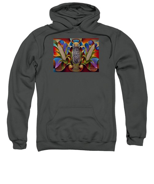 Tapestry Of Gods - Chicomecoatl Sweatshirt