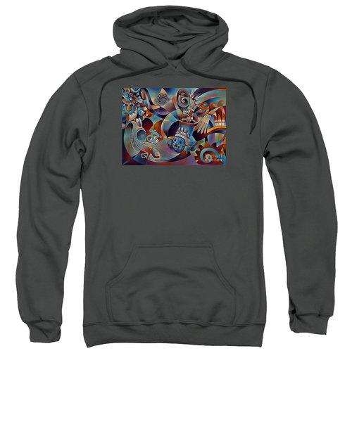 Tapestry Of Gods - Tlaloc Sweatshirt