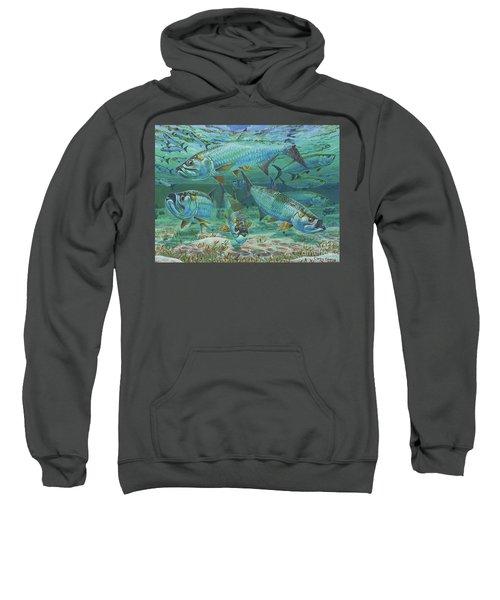 Tarpon Rolling In0025 Sweatshirt by Carey Chen