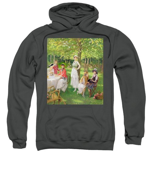 Tea In The Garden Sweatshirt