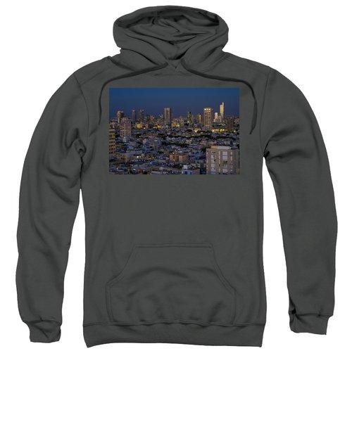 Tel Aviv At The Twilight Magic Hour Sweatshirt