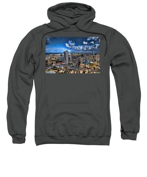 Tel Aviv Center Skyline Sweatshirt